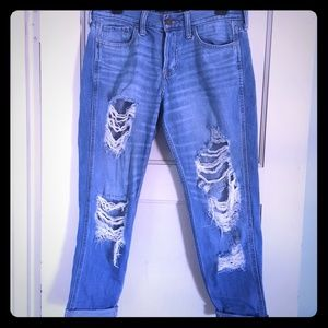 Hollister jeans.